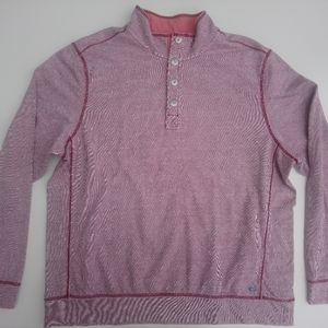 TOMMY BAHAMA XXL PULLOVER men's red